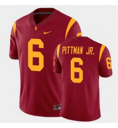 Men Usc Trojans Michael Pittman Jr. College Football Cardinal Alumni Player Game Jersey