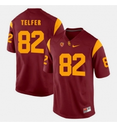 Men Usc Trojans Randall Telfer Pac 12 Game Red Jersey