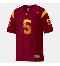 Men Usc Trojans Reggie Bush College Football Red Jersey