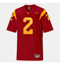 Men Usc Trojans Robert Woods College Football Red Jersey