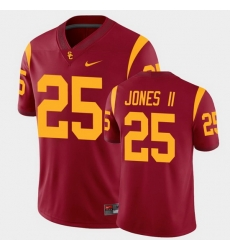 Men Usc Trojans Ronald Jones Ii College Football Cardinal Alumni Player Game Jersey