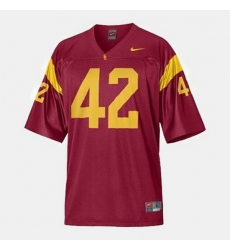 Men Usc Trojans Ronnie Lott College Football Red Jersey