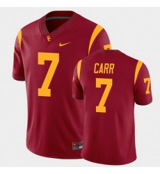 Men Usc Trojans Stephen Carr College Football Cardinal Alumni Player Game Jersey