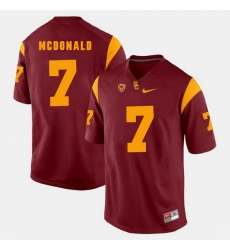 Men Usc Trojans T.J. Mcdonald Pac 12 Game Red Jersey