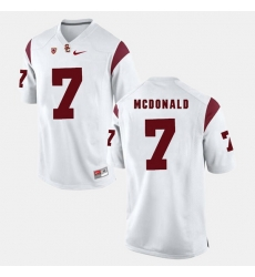 Men Usc Trojans T.J. Mcdonald Pac 12 Game White Jersey