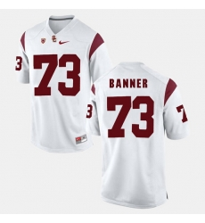 Men Usc Trojans Zach Banner Pac 12 Game White Jersey