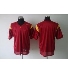 NCAA USC Trojans blank Red Jersey