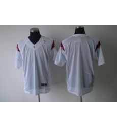 NCAA USC Trojans blank white Jersey