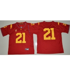 USC Trojans #21 Red College Football Jersey
