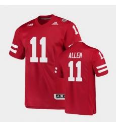 Men Nebraska Cornhuskers Austin Allen College Football Scarlet Premier Jersey