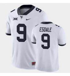 Men West Virginia Mountaineers Isaiah Esdale Game White College Football Jersey