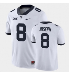 Men West Virginia Mountaineers Karl Joseph Game White College Football Jersey