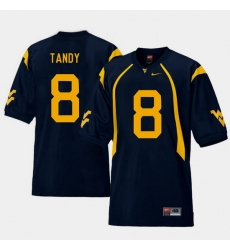Men West Virginia Mountaineers Keith Tandy Navy College Football Home Jersey