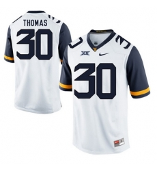 West Virginia Mountaineers J.T. Thomas 30 White.jpg