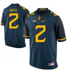 West Virginia Mountaineers Ka #x27;Raun White 2 Blue.jpg