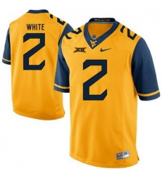 West Virginia Mountaineers Ka #x27;Raun White 2 Gold.jpg