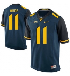 West Virginia Mountaineers Kevin White 11 Blue.jpg