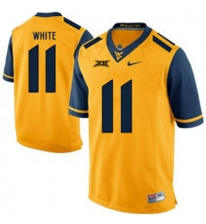 West Virginia Mountaineers Kevin White 11 Gold.jpg