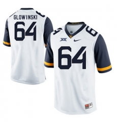 West Virginia Mountaineers Mark Glowinski 64 White.jpg