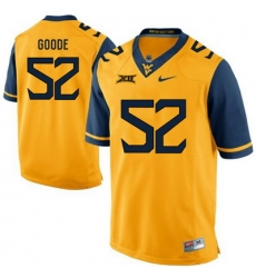 West Virginia Mountaineers Najee Goode 52 Gold.jpg
