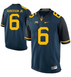 West Virginia Mountaineers Reggie Roberson Jr. 6 Blue.jpg