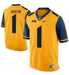 West Virginia Mountaineers Tavon Austin 1 Gold.jpg