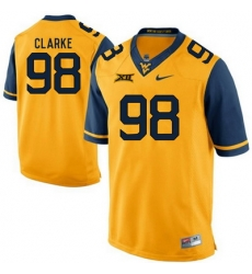 West Virginia Mountaineers Will Clarke 98 Gold.jpg