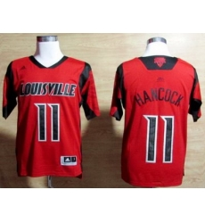 Louisville Cardinals 11 Luke Hancock Red College NCAA Jerseys