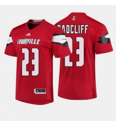Louisville Cardinals Brandon Radcliff College Football Red Jersey