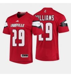 Louisville Cardinals Malik Williams College Football Red Jersey