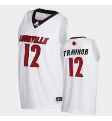 Men Louisville Cardinals Jj Traynor College Basketball White Swingman 2020 21 Jersey