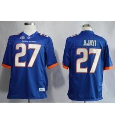 Boise State Broncos 27 Jay Ajayi Blue NCAA Jerseys