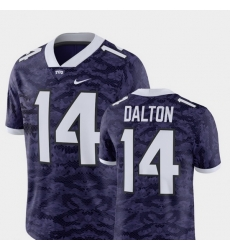 Men Tcu Horned Frogs Andy Dalton Purple Alumni Football Game Player Jersey