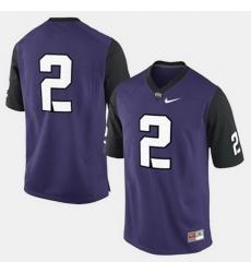 Men Tcu Horned Frogs Trevone Boykin College Football Purple Jersey