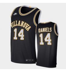 Men Villanova Wildcats Caleb Daniels Retro Limited Navy Elite Jersey