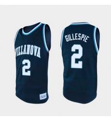 Men Villanova Wildcats Collin Gillespie Alumni Navy College Baketball Jersey