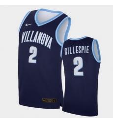 Men Villanova Wildcats Collin Gillespie Replica Navy College Basketball Jersey