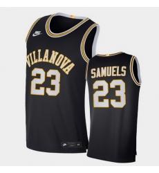 Men Villanova Wildcats Jermaine Samuels Retro Limited Navy Elite Jersey