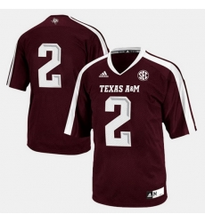 Men Texas A M Aggies College Football Maroon Jersey