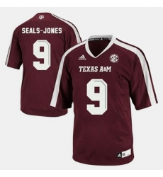 Men Texas A M Aggies Ricky Seals Jones College Football Red Jersey