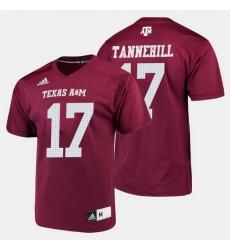 Men Texas A M Aggies Ryan Tannehill College Football Maroon Jersey