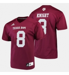 Men Texas A M Aggies Trevor Knight College Football Maroon Jersey