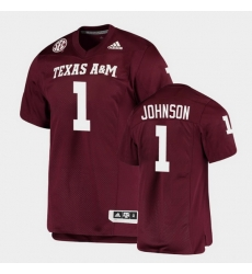 Men Texas A&M Aggies Buddy Johnson Alumni Football Game Maroon Jersey