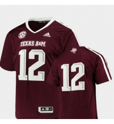 Men Texas A&M Aggies Maroon College Football Premier Jersey