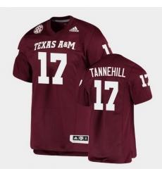 Men Texas A&M Aggies Ryan Tannehill Alumni Football Game Maroon Jersey