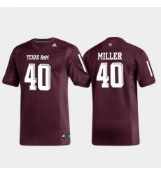 Men Texas A&M Aggies Von Miller 40 Maroon Replica Alumni Football Jersey