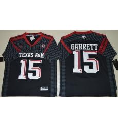 Texas A 26M Aggies 15 Myles Garrett Black College Football Jersey