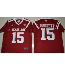 Texas A 26M Aggies 15 Myles Garrett Red College Football Jersey