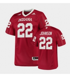 Men Indiana Hoosiers Jamar Johnson College Football Crimson Game Jersey