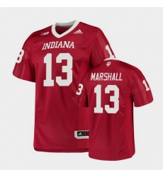 Men Indiana Hoosiers Miles Marshall College Football Crimson Game Jersey